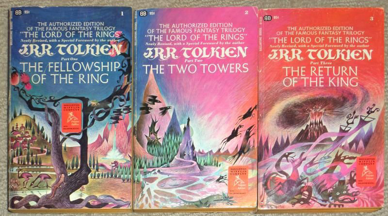 Lord of the Rings 1960s Paperbacks